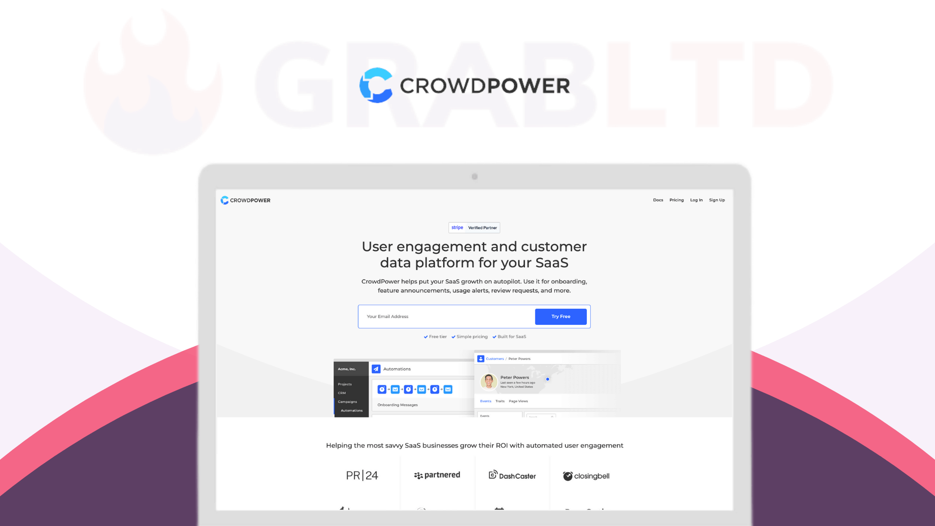 CrowdPower | Automated User Engagement for SaaS 1