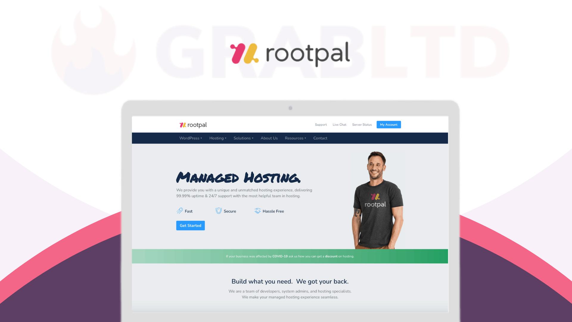Rootpal | WordPress Hosting Startup Plan 1