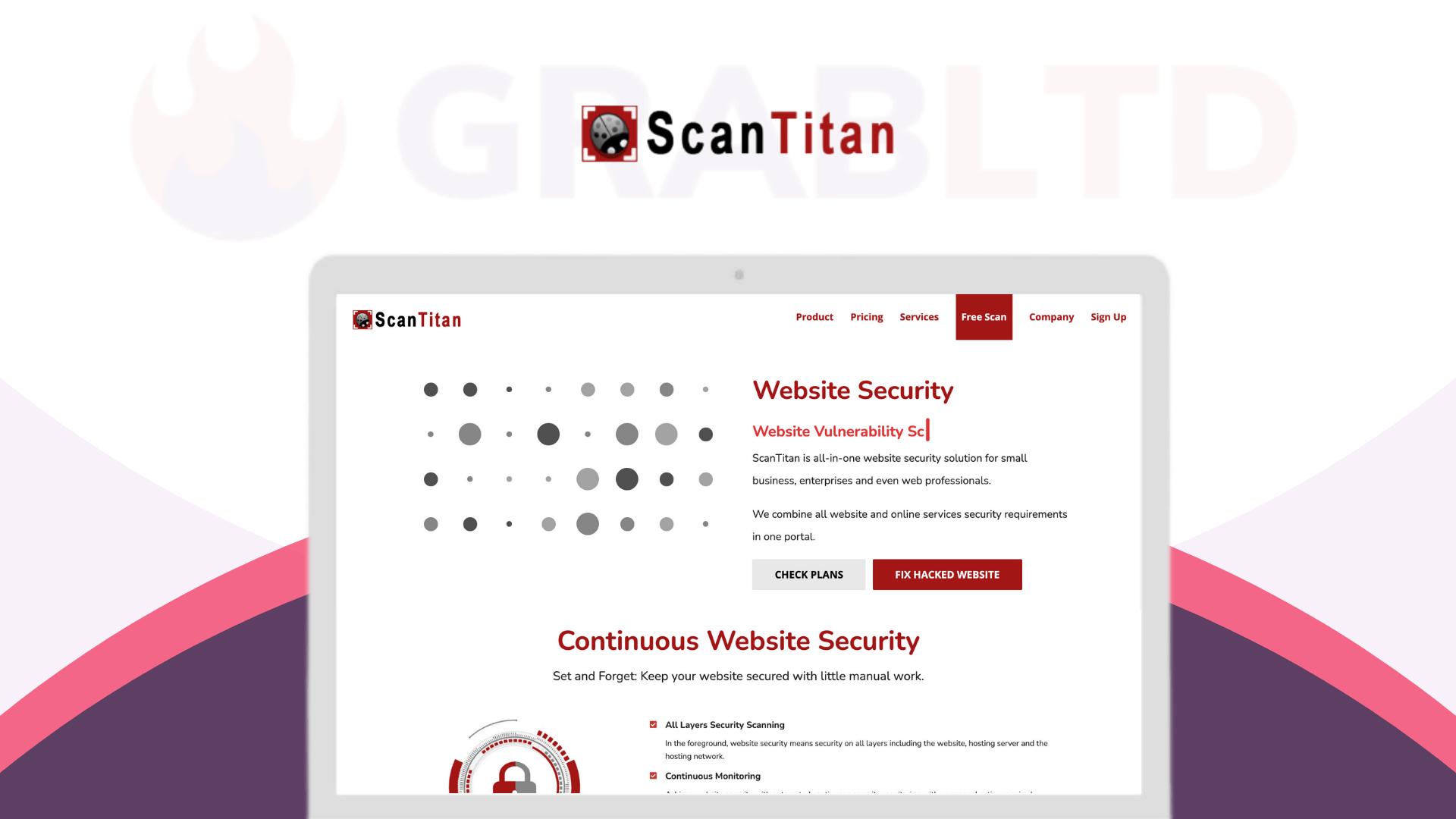 Scantitan   Website Security & Threat Intelligence Solution 1