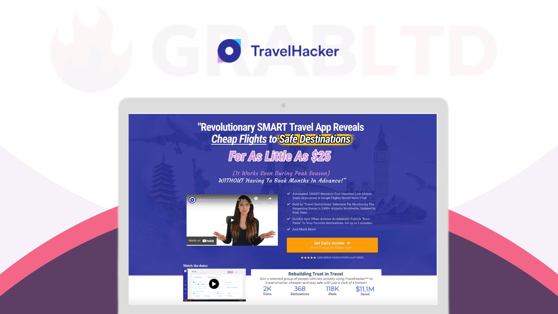 TravelHacker | #1 Travel App For Finding Cheapest Flights 1