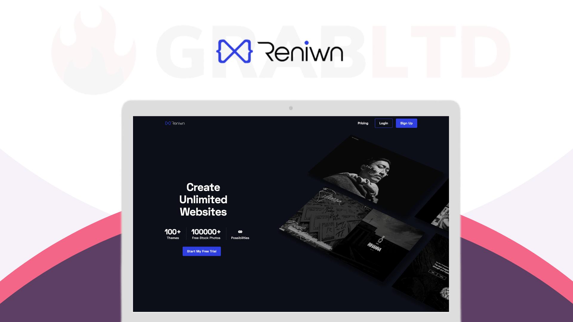 Reniwn   All-in-one Website Builder 1