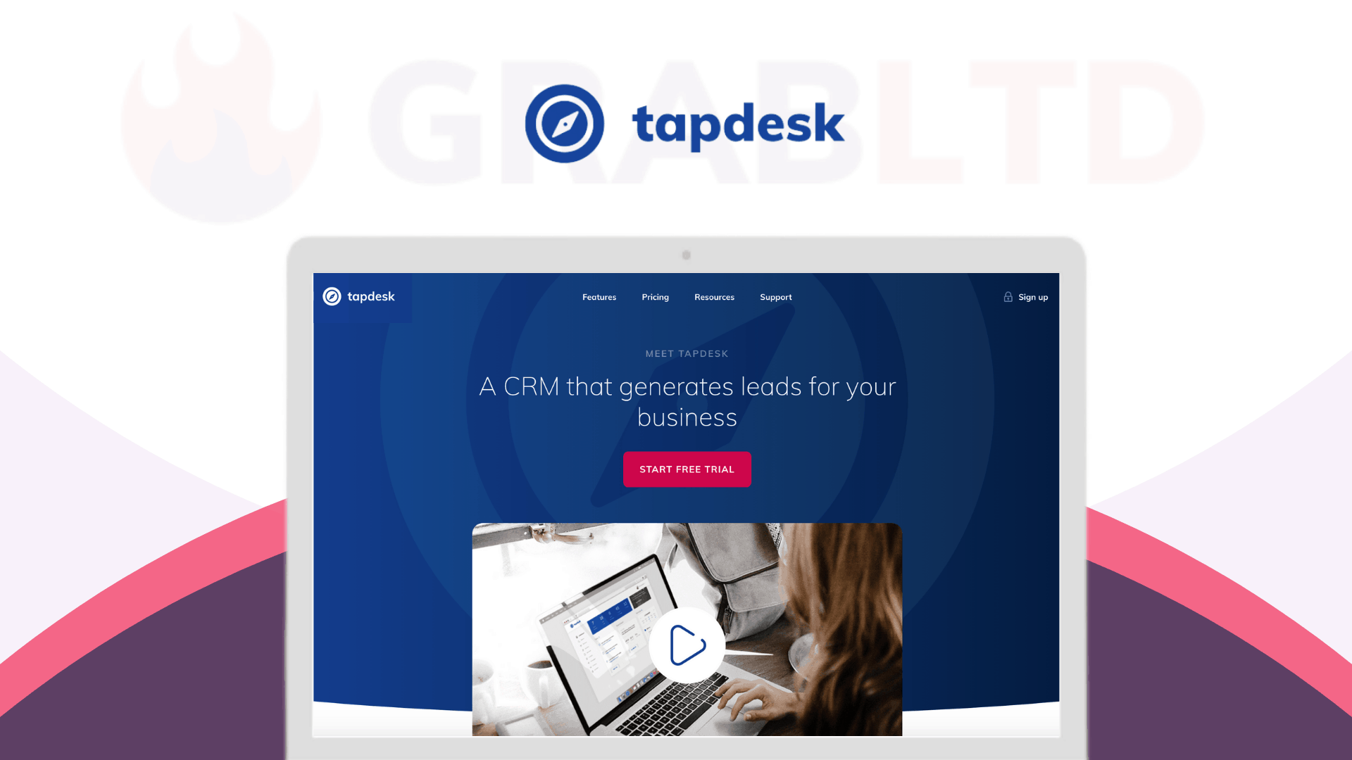Tapdesk | All-in-one CRM software 1