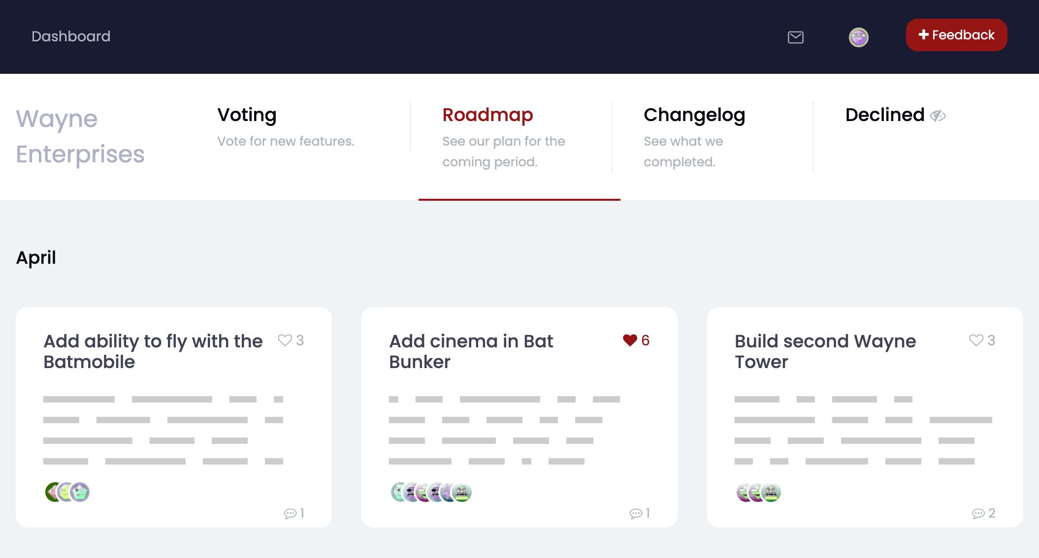 ProductLift   Ultra-flexible Roadmap & Changelog Tool 2