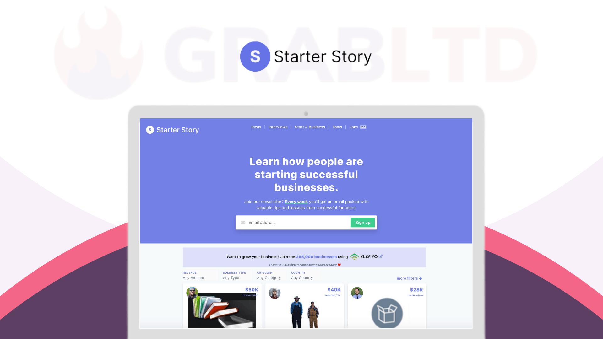 Starter Story | Business Case Studies & Stories 1