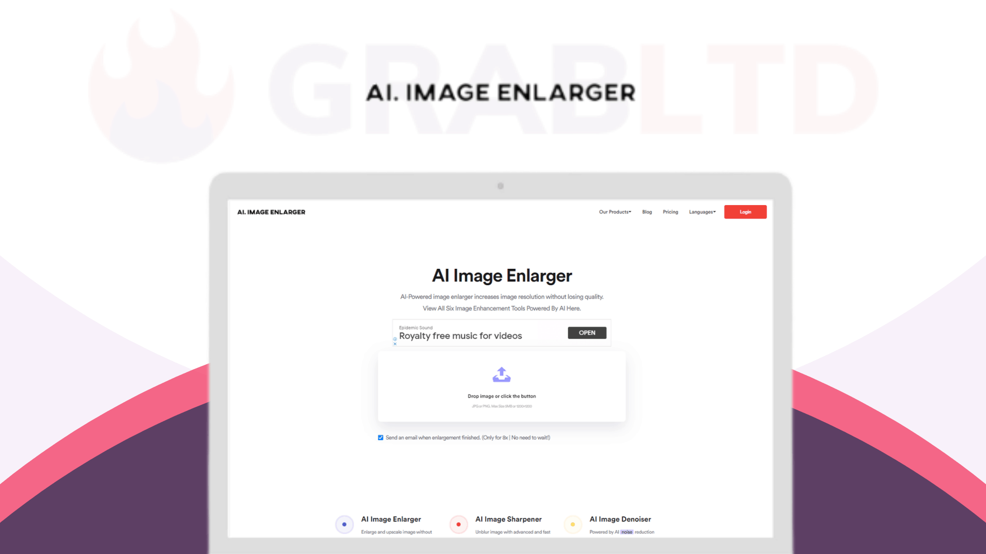AI Image Enlarger | AI-powered Image Editing Software 1