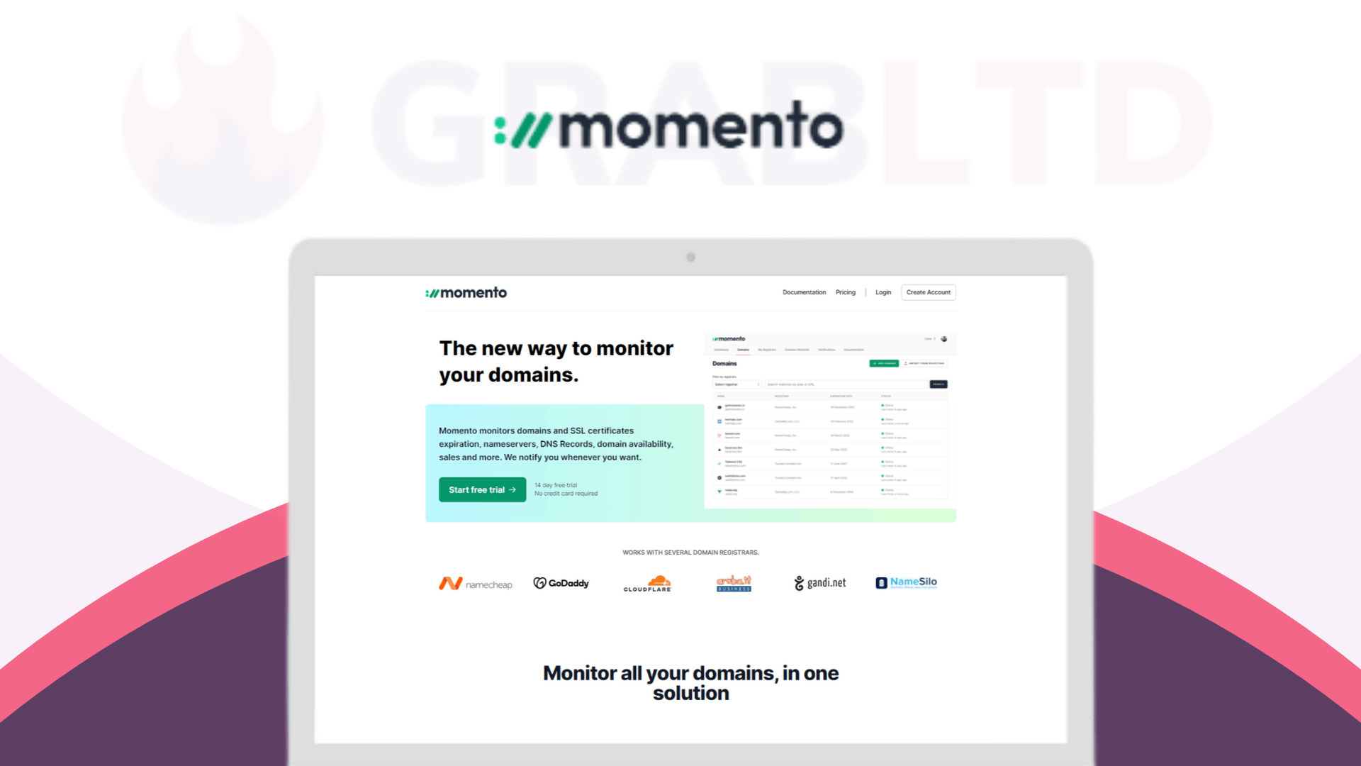 Momento | Monitor Your Domains & SSL Certificates 1