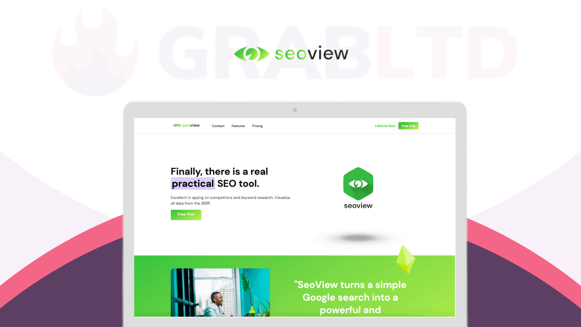 SeoView | Visualize All Data From The SERP 1