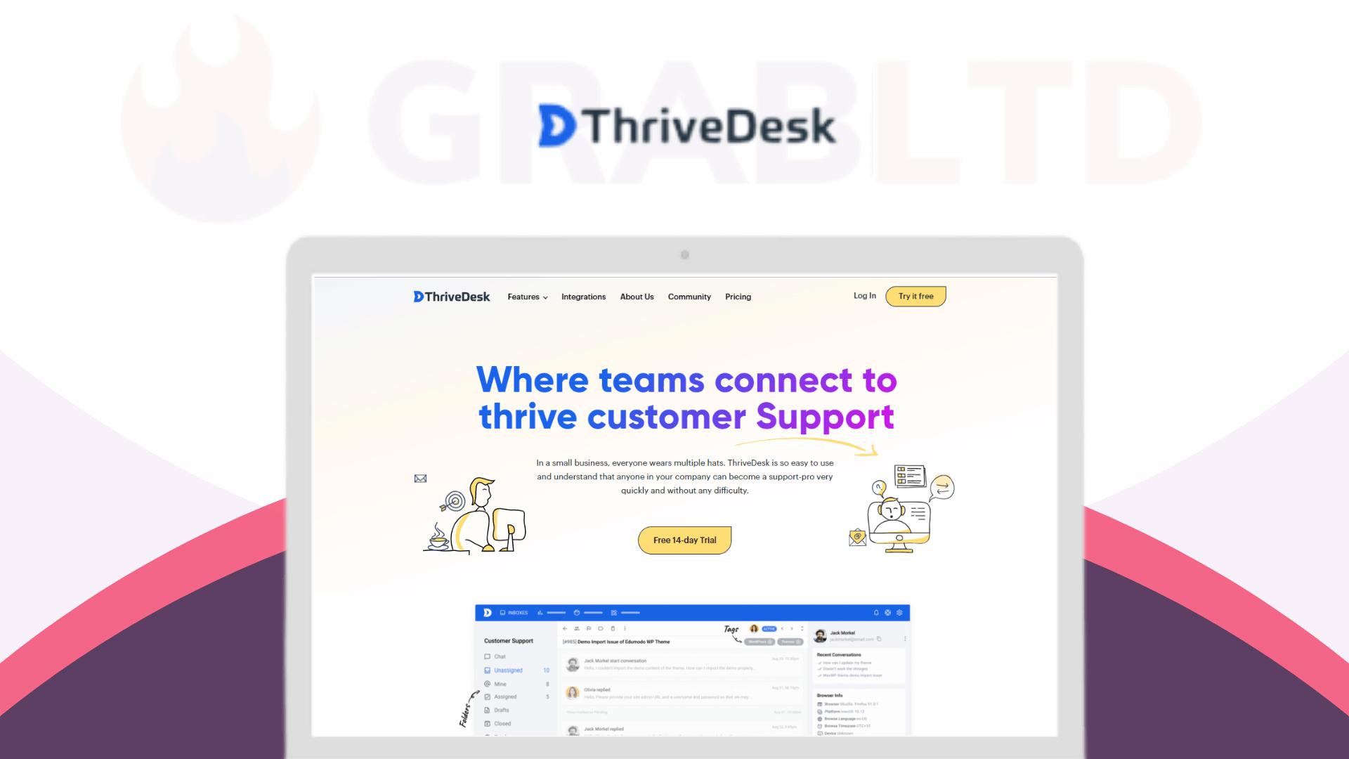ThriveDesk | Helping Startups Thriving Customer Support 1