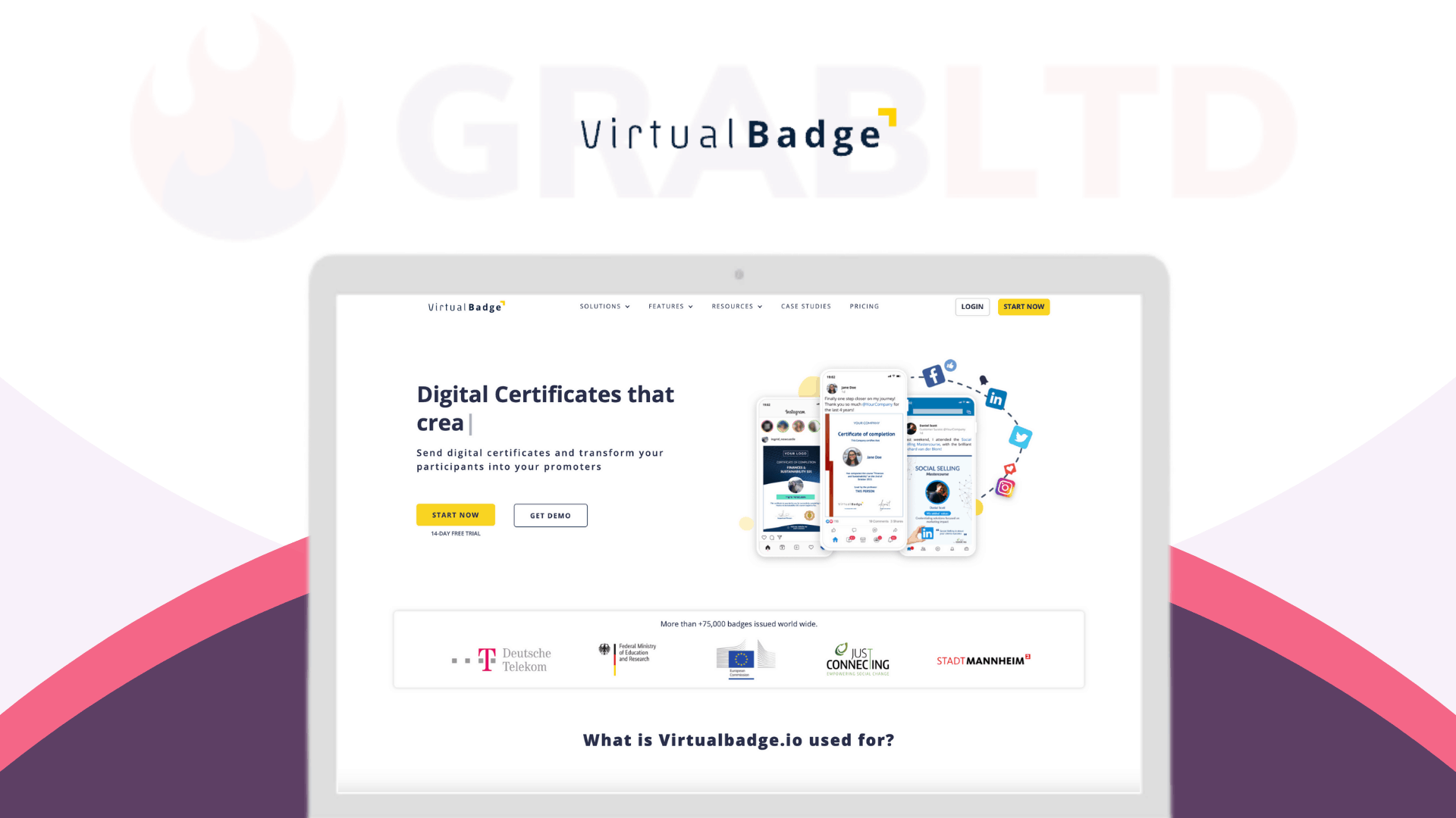 Virtualbadge | Create Digital Certificates & Virtual Badges 1