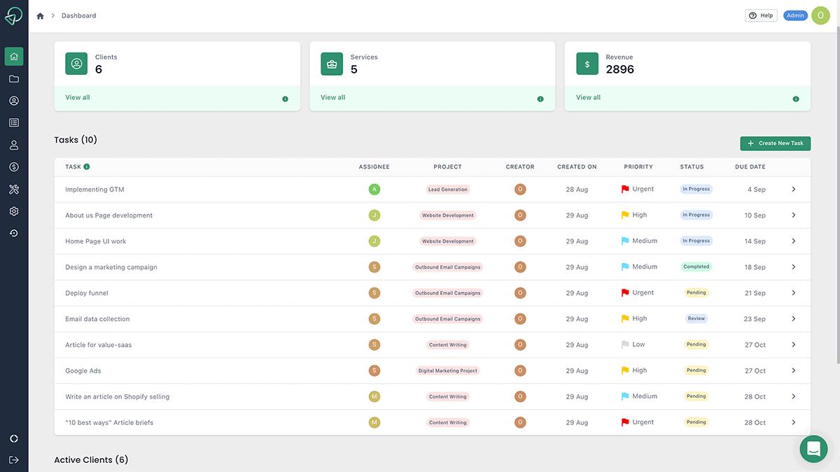 ClientVenue | Client Management Portal For Agencies 2