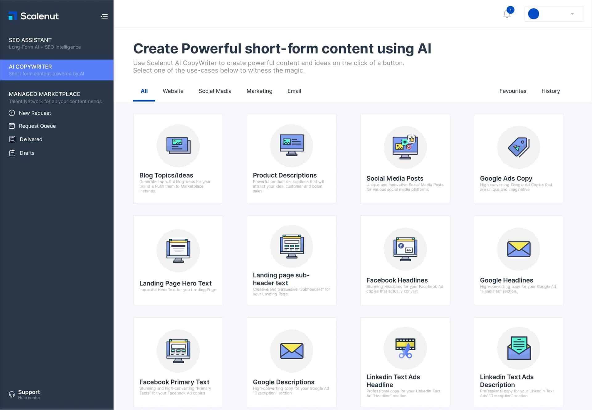 Scalenut | AI-Powered Content Research & Copywriting Platform 2