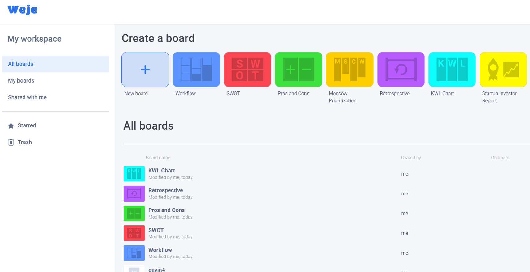 Weje   Collaborate on Your Own Whiteboard 2